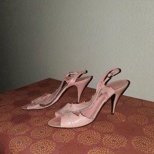 Vintage 80's  Sacha London Leaf Heels 8.5